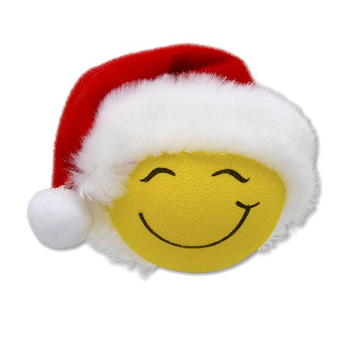 Tenna Tops Santa Hat Cutie Happy Smiley Car Antenna Topper/Antenna Ball/Rear View Mirror Dangler/Auto Accessory Tenna Tops® TT_SantaCutie