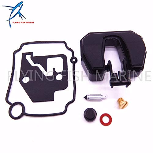Boat Parts & Accessories Boat Motor Carburetor Repair Kit 66M-W0093-01-00  66M-W0093-00 for Yamaha 4-Stroke 15Hp F15 Outboard Engine