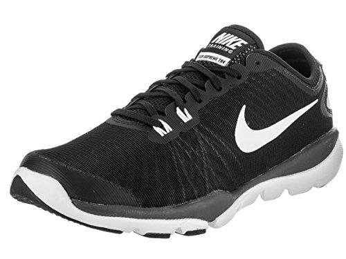 Nike W Flex Supreme Tr 4 (W), Zapatillas de Senderismo para Mujer Negro (Negro (black/white-anthracite-stealth))