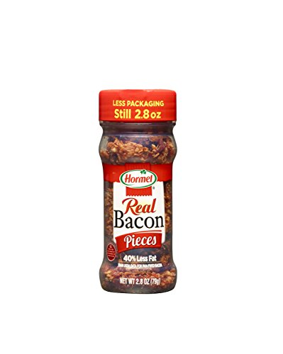 Hormel Real Bacon Pieces, 2.8-Ounce Jars (Pack of - Real Pieces Bacon
