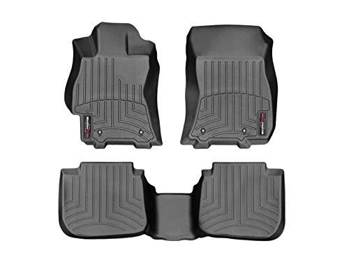 WeatherTech Custom Fit FloorLiner for Subaru Legacy/Outback - 1st & 2nd Row (Black) (Best Subaru Legacy Year)
