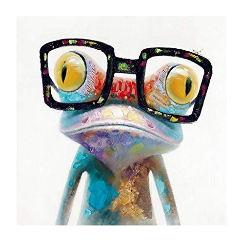 NEILDEN DIY Diamond Pianting Kits for Kids Diamond Dotz Diamond Drawing (Frog, 20x20cm)