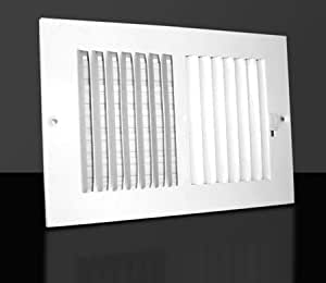 14 X 6 2 Way Ceiling Sidewall Register Vent Cover ...