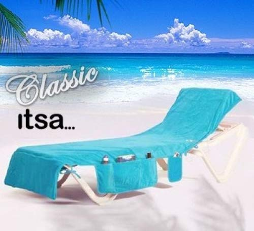 Classic Turquoise Itsa Beach Towel