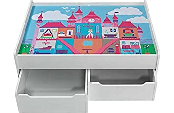 Chad Valley Storage Play Table Castle Amazoncouk Toys Games
