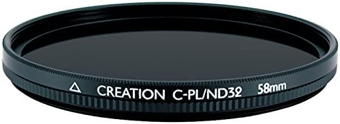 97093 MARUMI Filter for camera CREATION 58mm C-PL For contrast rise // reflection removal + light reduction filter ND32