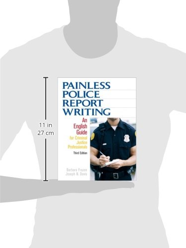 Painless police report writing book