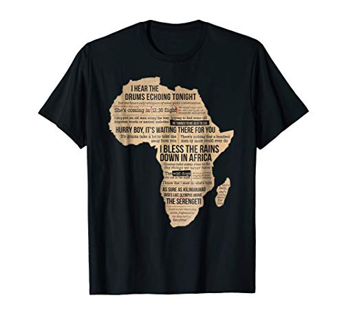 (Bless Africa Rains On Toto TShirt)