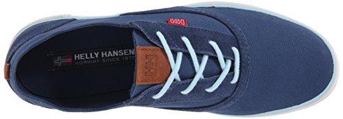 Helly Hansen W Karlshavn - Zapatillas de deporte exterior Mujer Gris / Azul (576 Deep Steel / Light Aqua)