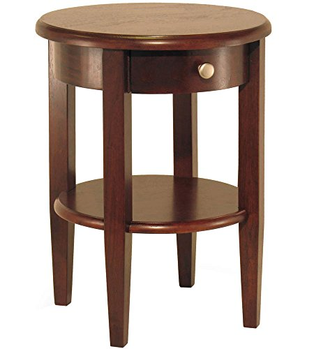 Comfy Leads Concord End Table - Antique Walnut, 17.325
