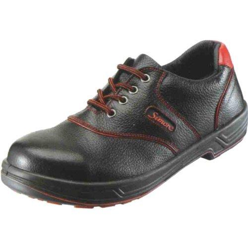 [武蔵野ユニフォーム] 安全靴 シモンライト SL11-R 黒/赤 【1823770】 (27cm)  B0046L7V5Q