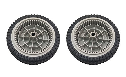 Set of (2) Front Drive Wheels replace MTD Troy-Bilt Self Propelled Mowers for 734-04018C,734-04018B, 734-04018A