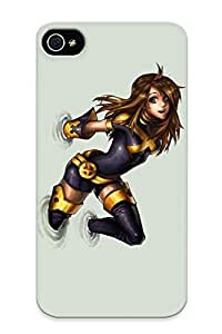 Ellent Design Kitty Pryde Xmen Phone Case For Iphone 4/4s Premium Tpu Case For Thanksgiving Day's Gift