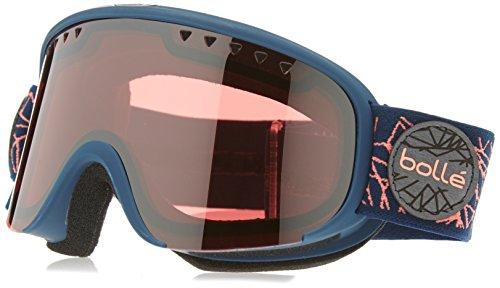 Bolle Scarlett Matte Diamond Vermillion Gun Googles, Navy/Rose, One - Bolle Scarlett Goggles