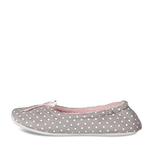 CLOSER VRAC - Zapatillas de Estar Por Casa de Material Sintético Mujer