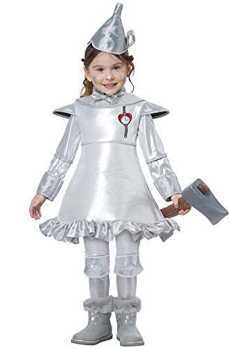 (Tin Man of Oz Toddler Costume Silver)