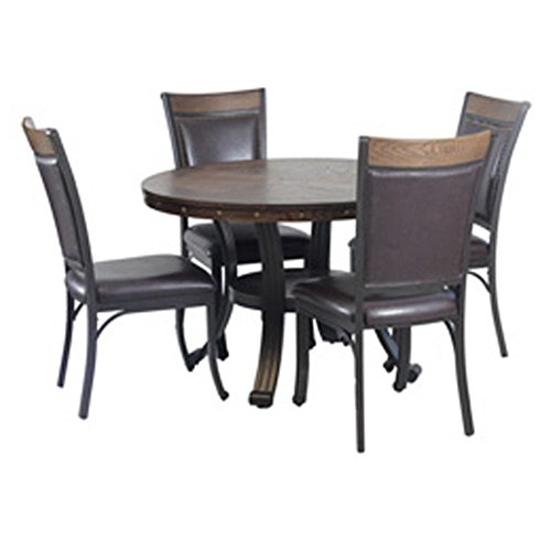 Powell Furniture 15D2020 Franklin Dining Group, Multicolor