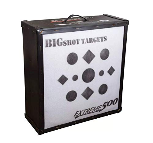 BIGSHOT Archery Big Shot Iron Man Extreme 500 Target, White, 24