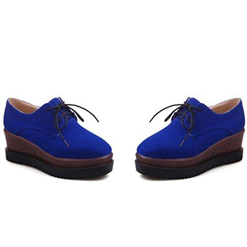 Donna Zeppa 3 Zanpa Flatform blue Mode Pumps ZWvwqnPd