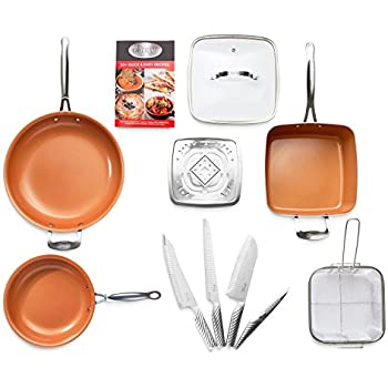 Amazon Com Gotham Steel Complete Kitchen Cookware And