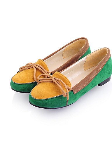 ShangYi Sandaletten für Damen Damenschuhe-Sandalen-Lässig-Kunstleder-Flacher Absatz-Komfort-Blau / Rosa / Weiß , blue-us5 / eu35 / uk3 / cn34 , blue-us5 / eu35 / uk3 / cn34