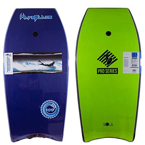 WaveBlade Pro Quality and Performance 42″ Bodyboard w/Channel Slick Bottom and Leash