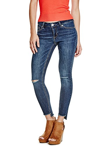 GUESS-Factory-Womens-Blanka-Frayed-Skinny-Jeans