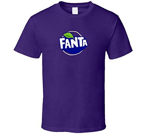Fanta Grape Halloween Costume Soda Pop Drink T Shirt S Purple