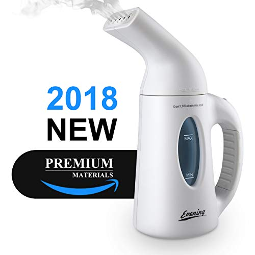 Portable Steamer 120ML Travel Steamer For Clothes Handheld Steamer For Home / Travel Use Clean, Sterilize Hand Held Garment Steamer Soft Fabric Steamer With Automatic Shut-Off Safety Protection by Evening