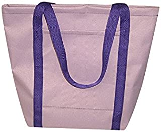 product image for Ladies Tote,Lilac Purple Knitting Bag,Shopping Bag Holds It All Made in U.s.a
