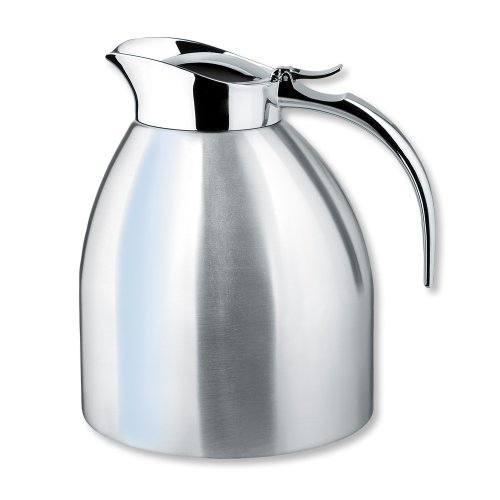 Isosteel VA-9331K 1.5 L / 51 oz Stainless Steel Vacuum Insulated Thermal Carafe Dishwasher Safe ()