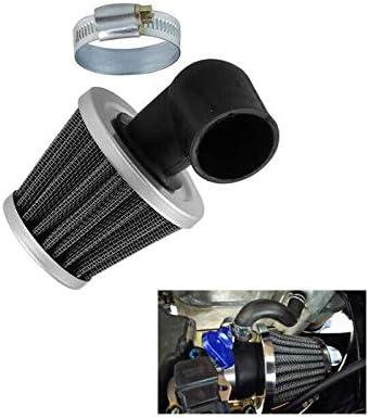 Bestlymood 35Mm Filtre /à Air Coud/é /à 90 /° pour ATV 50Cc-110Cc Quad Scooter Faire du Kart Fosse de V/éLomoteur Course de Salet/é Super Pocket Kart Dirt Bicyclette