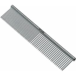 Andis Pet 7-1/2-Inch Steel Comb (65730)