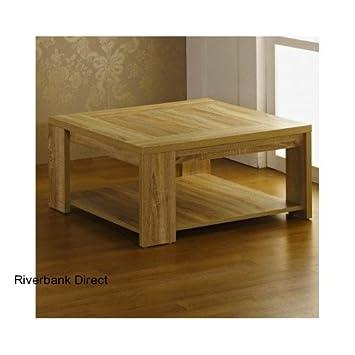 Helle Eiche Furniert Holz Wohnzimmertisch Mit Regal Dieses