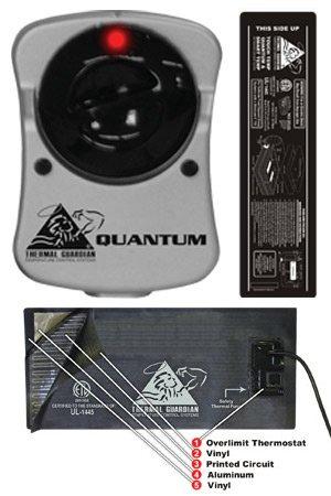 Performance Master Calefactor para Cama de Agua para Hardside Camas de Agua