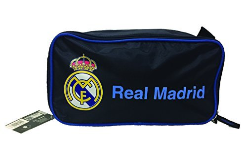 Real Madrid Shoe Bag ( 13.5'' x 6.5'' x 5'' ) by Icon Sports