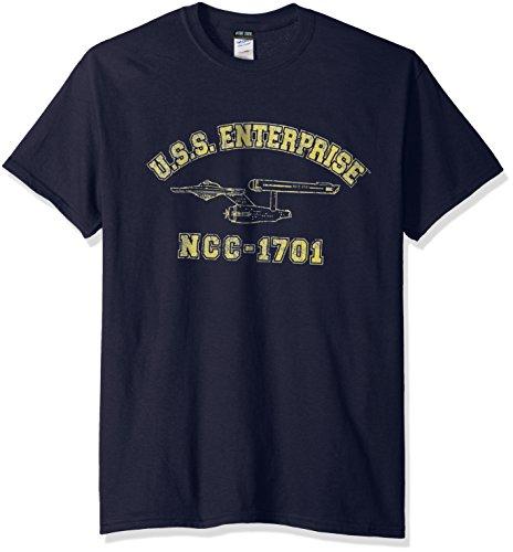 Trevco Men's Star Trek Enterprise Athletic T-Shirt