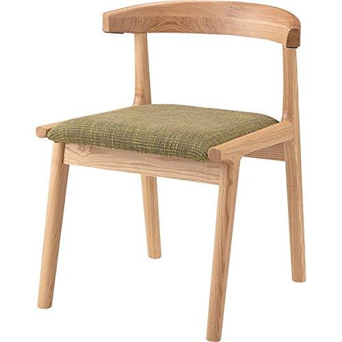ヘンリー ダイニングチェア 木製(天然木) グリーン HOC-541GR 生活用品 インテリア 雑貨 インテリア 家具 椅子 その他の椅子 top1-ds-1672187-ah [簡素パッケージ品] B06XQW93DH
