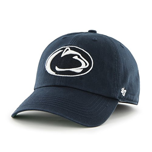 '47 NCAA Penn State Nittany Lions Franchise Fitted Hat, Navy A, XX-Large