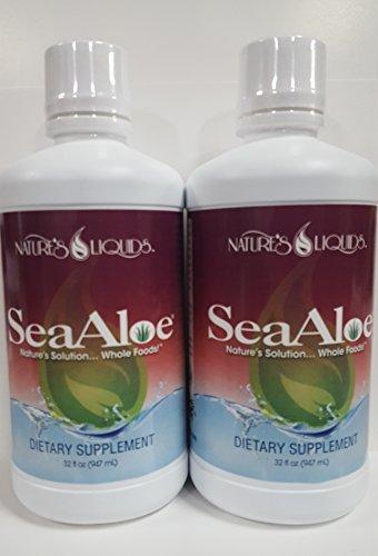 SeaAloe Liquid Whole Food 2 Bottles – 32 Ounces Each