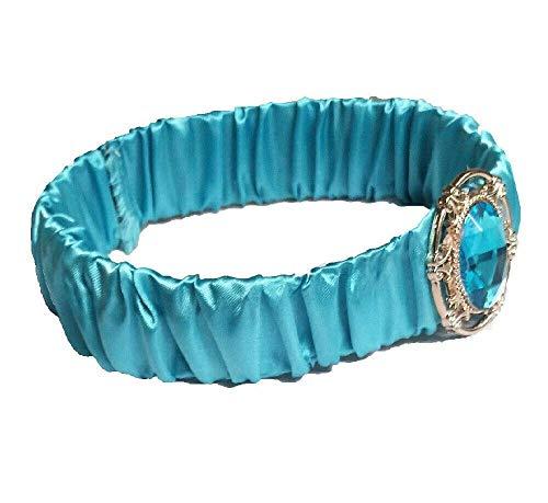 Girls Princess Jasmine Aladdin Style Turquoise Alice Hairband Headband Cosplay