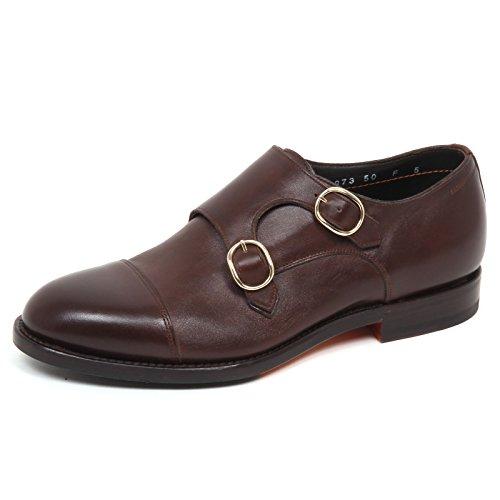 Brown Uomo Scarpe Scarpa Man Marron E0508 Santoni Shoe BFvztn