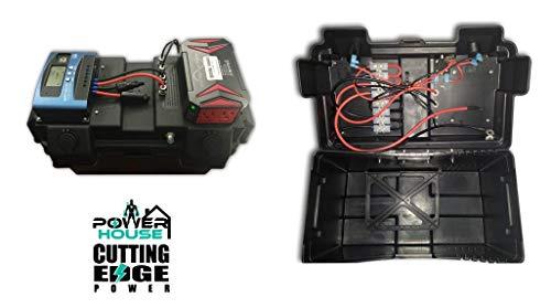 Cutting Edge Power 1200W MPPT Premium Solar Generator with 300W Pure Sine Inverter, Portable Battery Box