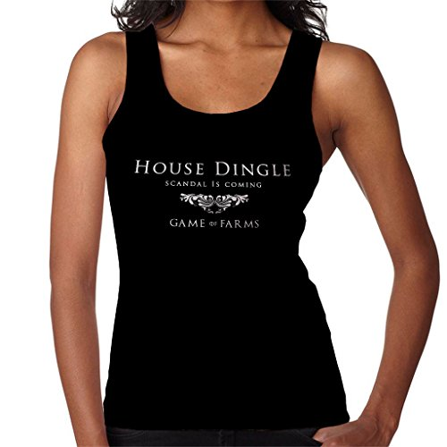 EMMERDALE Game Of Thrones Mix House Dingle Game Of Farms Womens Vest