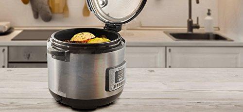 NuWave Nutri-Pot 8 Quart Digital Pressure Cooker,gray/black,8 qt. by NuWave (Image #3)