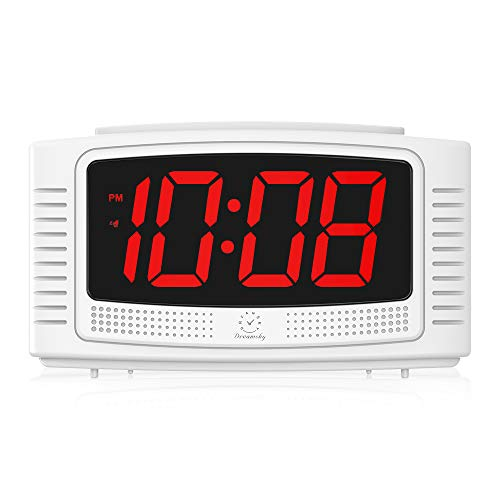 DreamSky Little Digital Alarm Clock with Snooze