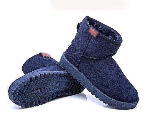 Meili Tubo De Nieve Cachemir 3 Además Corto Cortas Zapatos Botas Planas Coreana Cálidas Mujer Algodón Antideslizantes Versión zrpSzq5