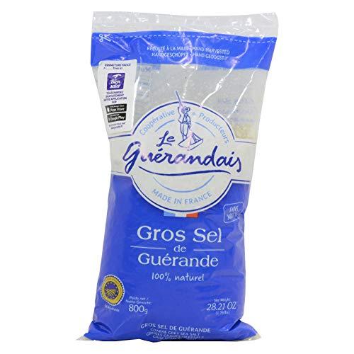 - Le Guerandais Coarse Sea Salt Gros Sel De Guerande, 1.76 Pound