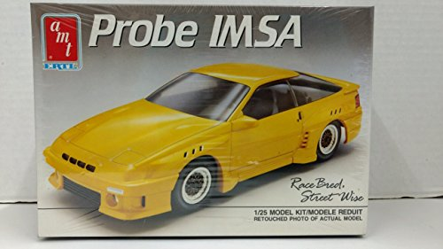 AMT 6247 1989 Ford Probe IMSA 2-Door Coupe 1:25 Scale Plastic Model Kit - Requires Assembly