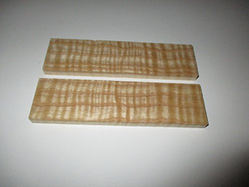 Sr Wood Blade - KNIFE SCALES (CURLY ASH)